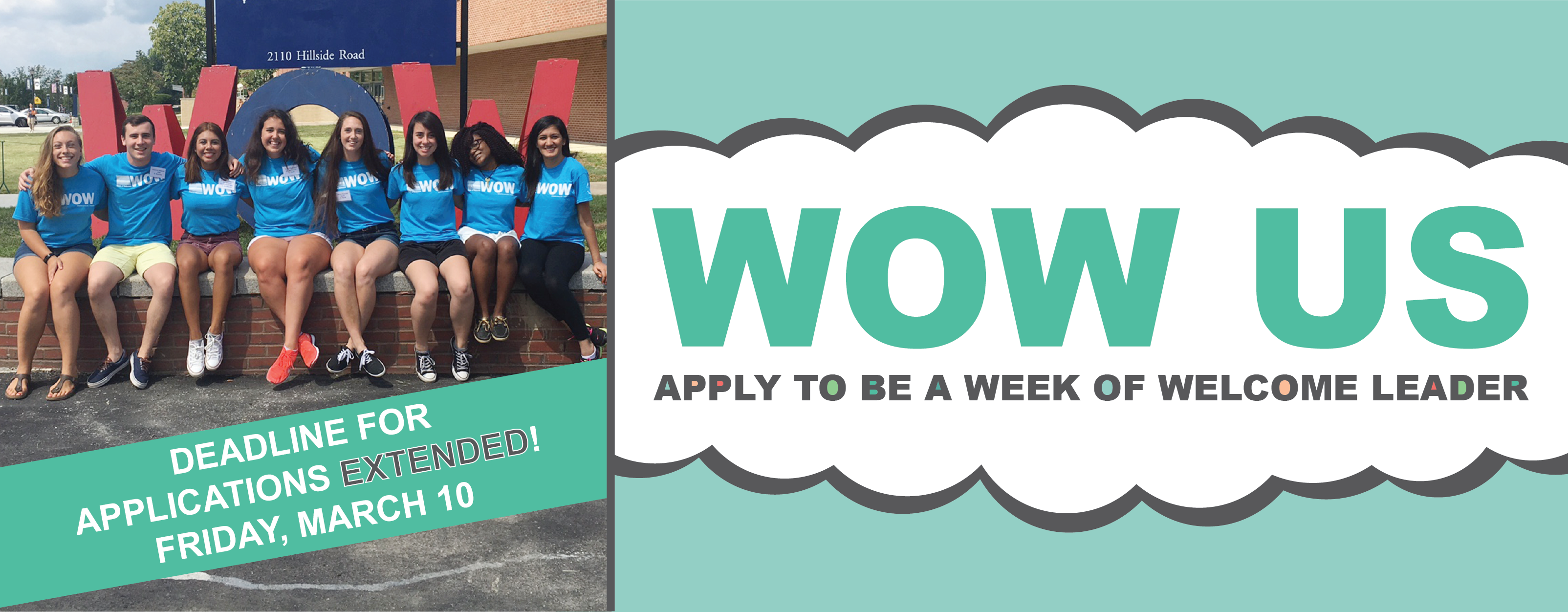 Apply to be a 2017 WOW Leader